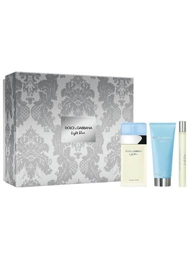 Dolce&Gabbana Light Body Lotionue Edt 100+Body Lotion100+Edt 10 Ml Kadin Parfüm Set Renksiz